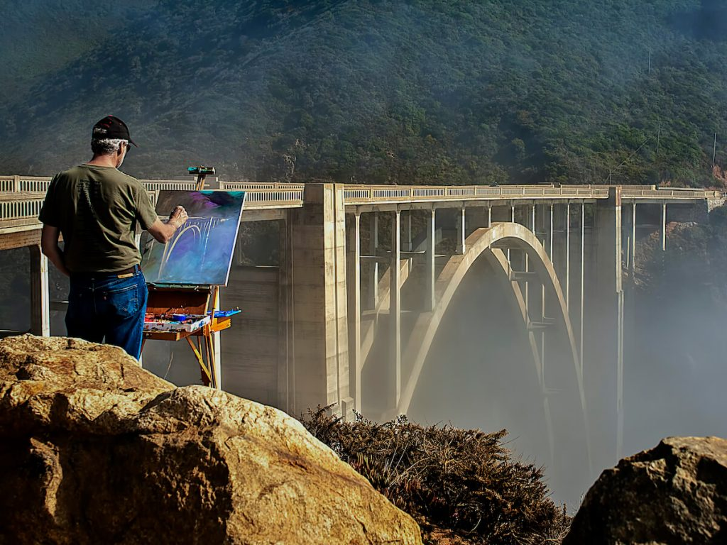 Bixby Creek Bridge Big Sur California America